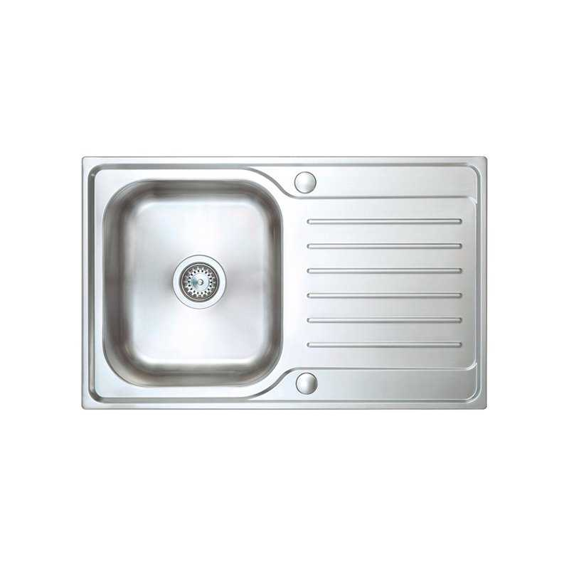River Don Single Bowl Stainless Steel Sink