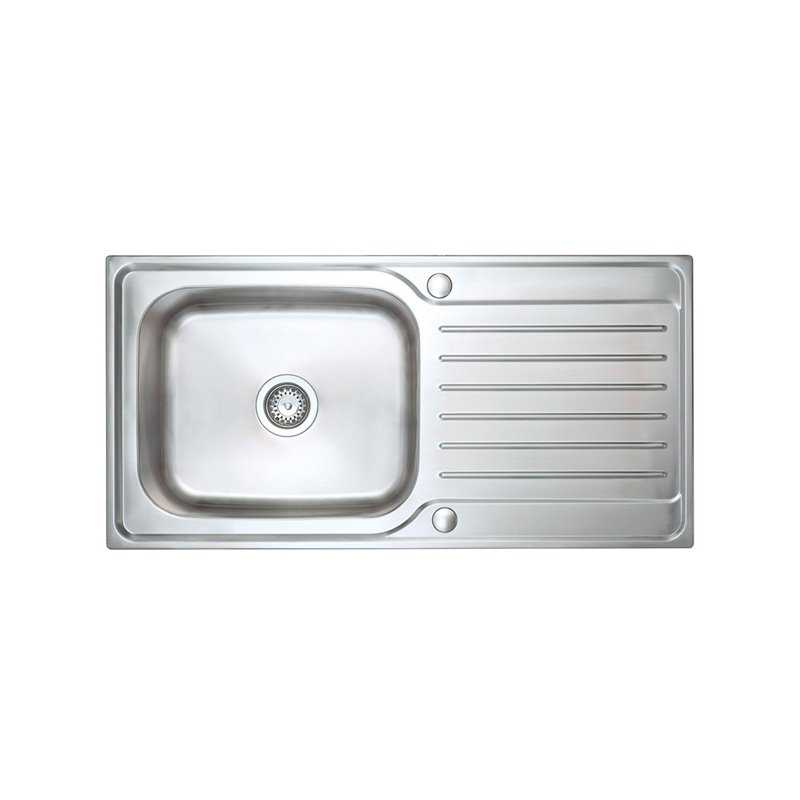 River Eden Single Bowl Stainless Steel Sink