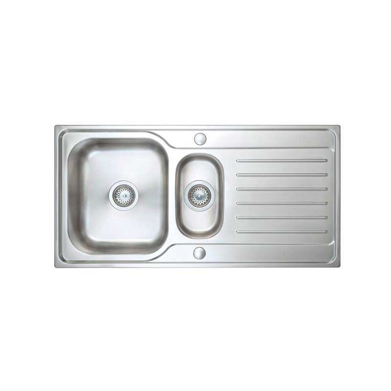 River Medway 1.5 Bowl Stainless Steel Sink