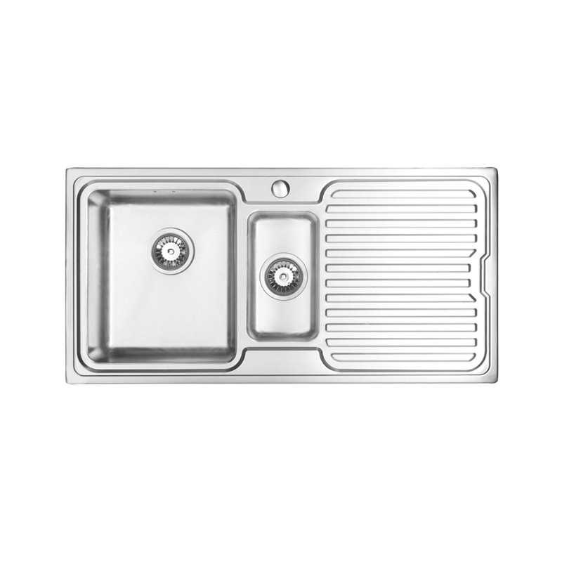 River Clyde 1.5 Bowl Stainless Steel Sink