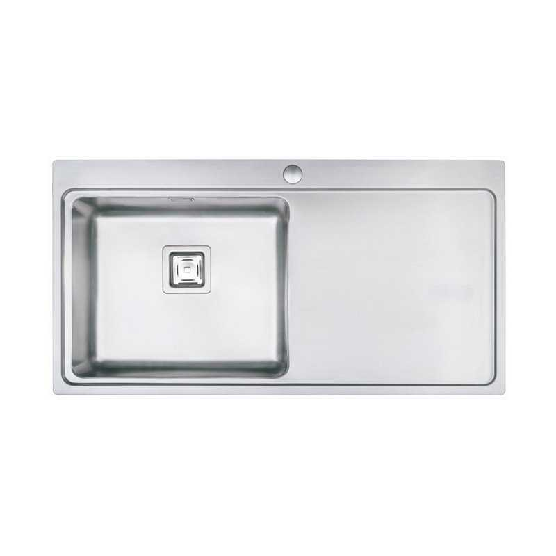 River Ock Single Bowl Stainless Steel Sink