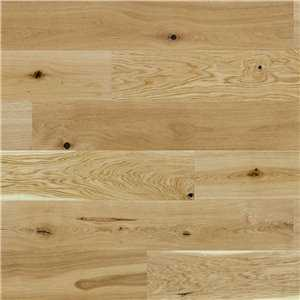 Basix 1 Strip Oak natural Bevelled Matt Lacquered BF01