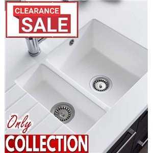 Encore Acrylic Sink - 1.5 Bowl