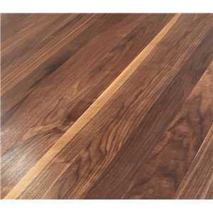 Full Stave Black American Walnut 27mm Wooden Worktop