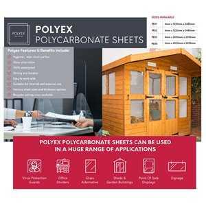 Polyex Polycarbonate Sheet