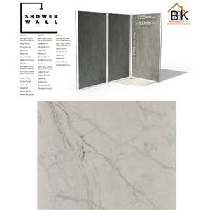 Showerwall Pack - Ocean Marble