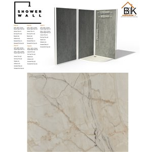 Showerwall Pack - Shell Marble