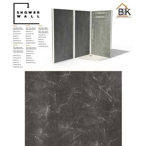 Showerwall Pack - Grigio Marble