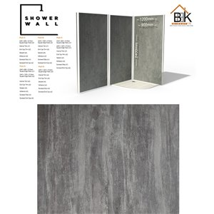 Showerwall Pack - Washed Charcoal