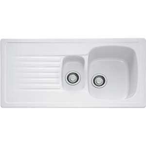 Franke Elba Ceramic 1.5 Bowl Sink