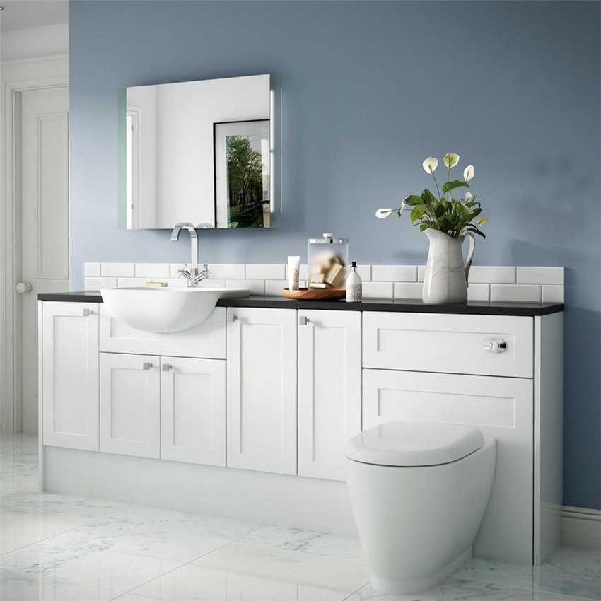 Innovative  Bathroom Furniture With Solid Surface Worktop Amp Marble Countertop